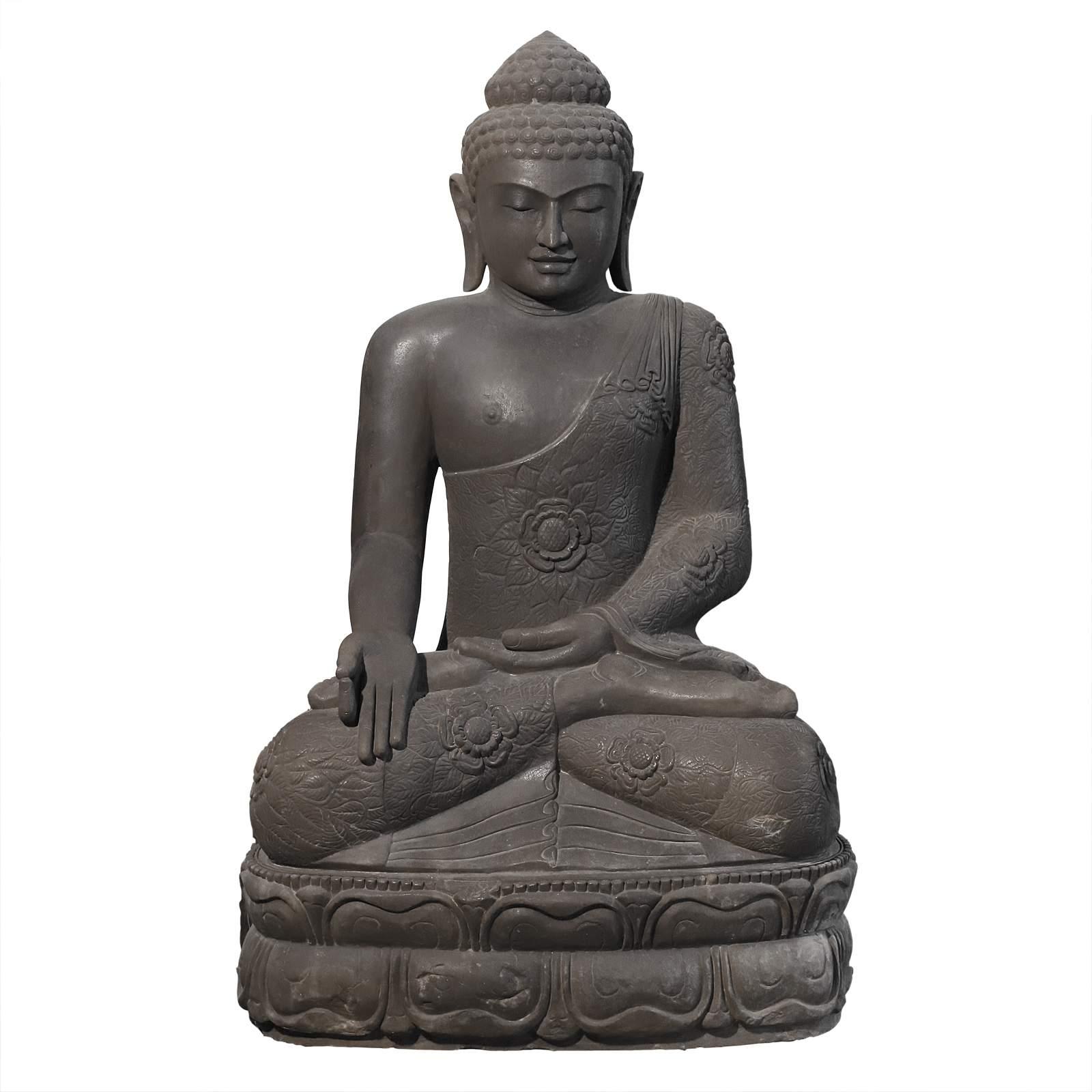 buddha statue 2 m sitzend