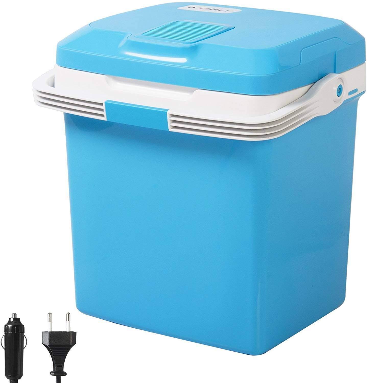 Thermo Elektrische Mini K hlschrank Isolierbox warmhalten blau8