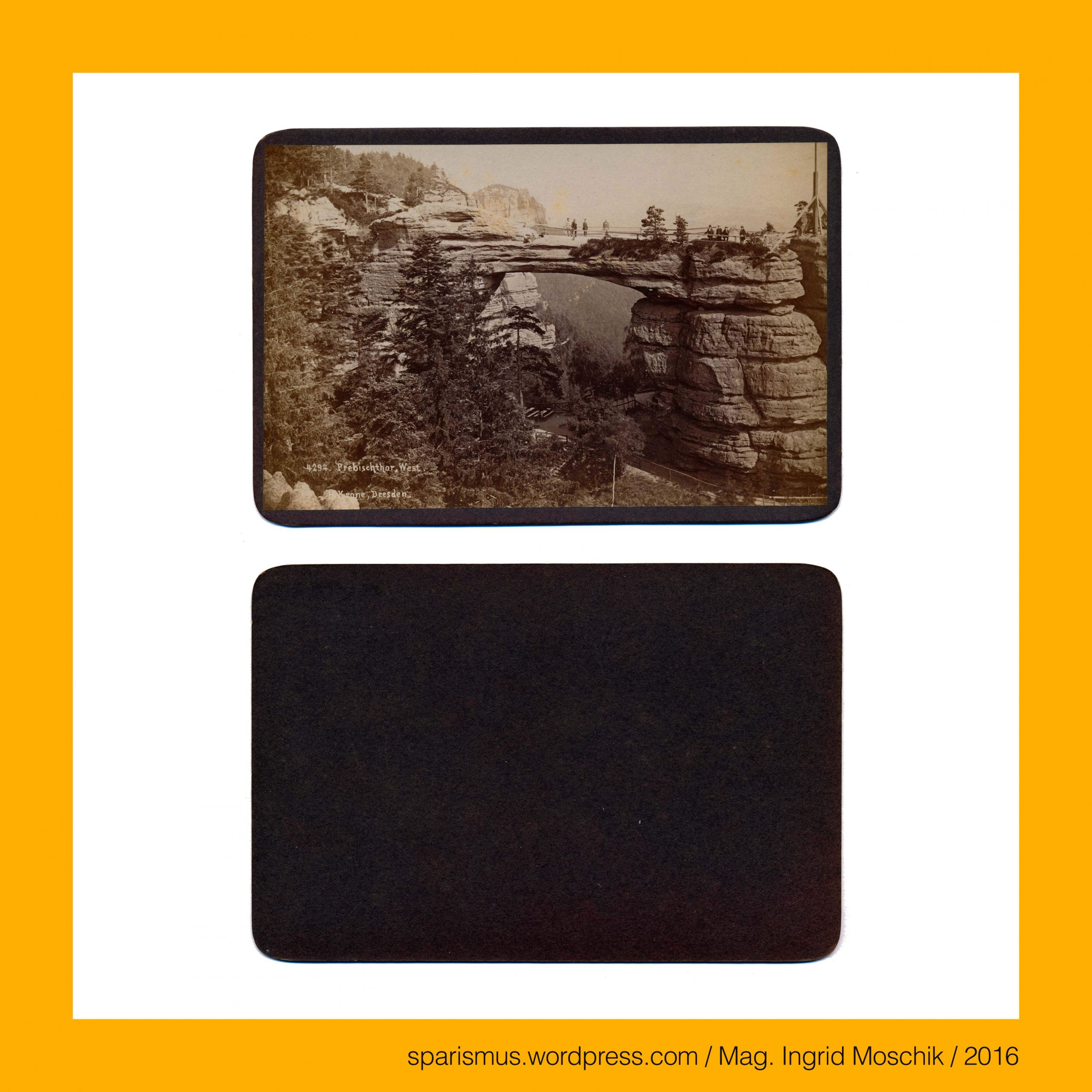 hermann krone dresden 4294 saechsische schweiz prebischtor 1880