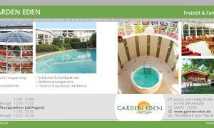32 Frisch Garten Eden Sauna Inspirierend