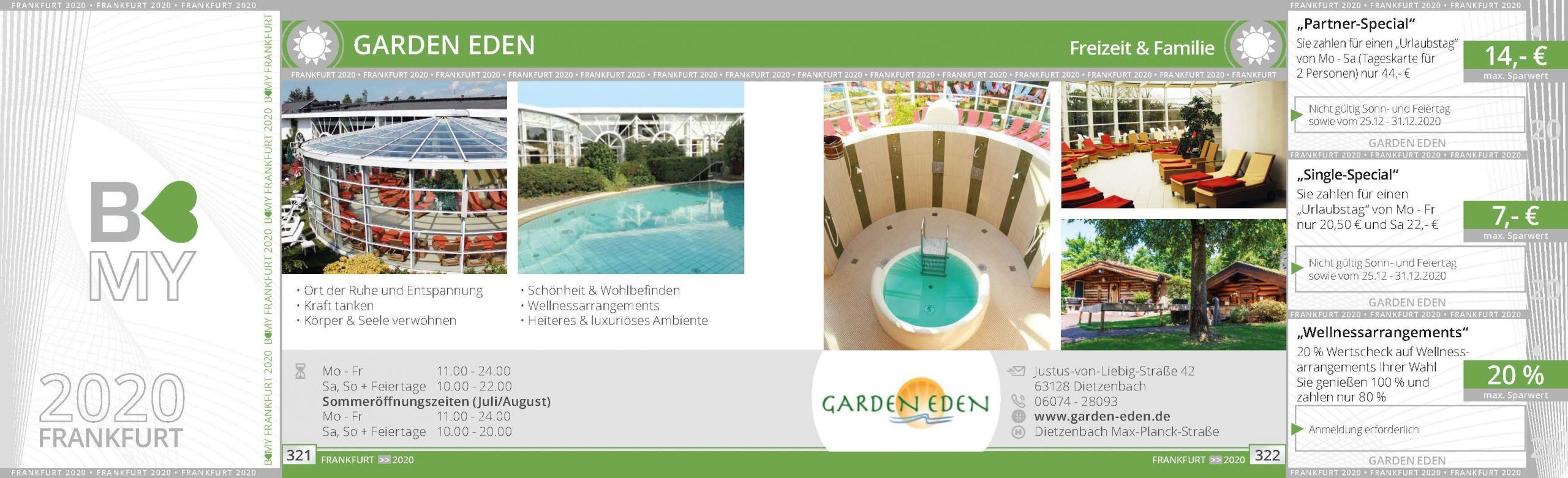 Garten Eden Sauna Das Beste Von Freizeit & Familie Partner 2020