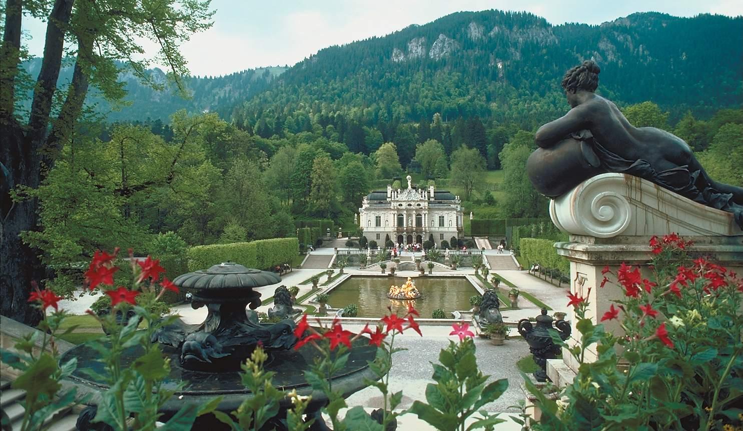 Linderhof mit Garten 2