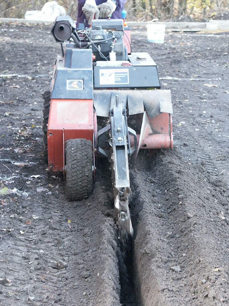 Bewässerung mit System