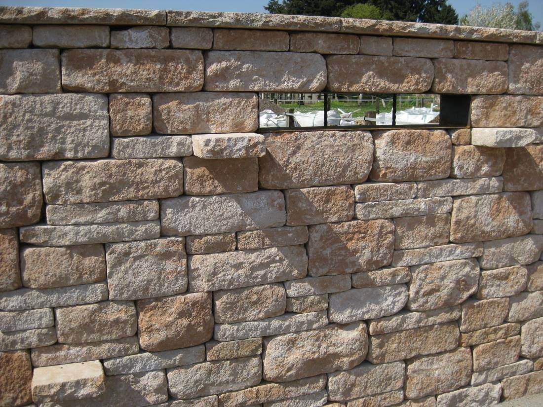 Garten Fräsen Schön Santuro Mauer Galabau Mähler Betonmauer
