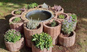 26 Genial Garten Gestalten Mit Pflanzsteinen Inspirierend