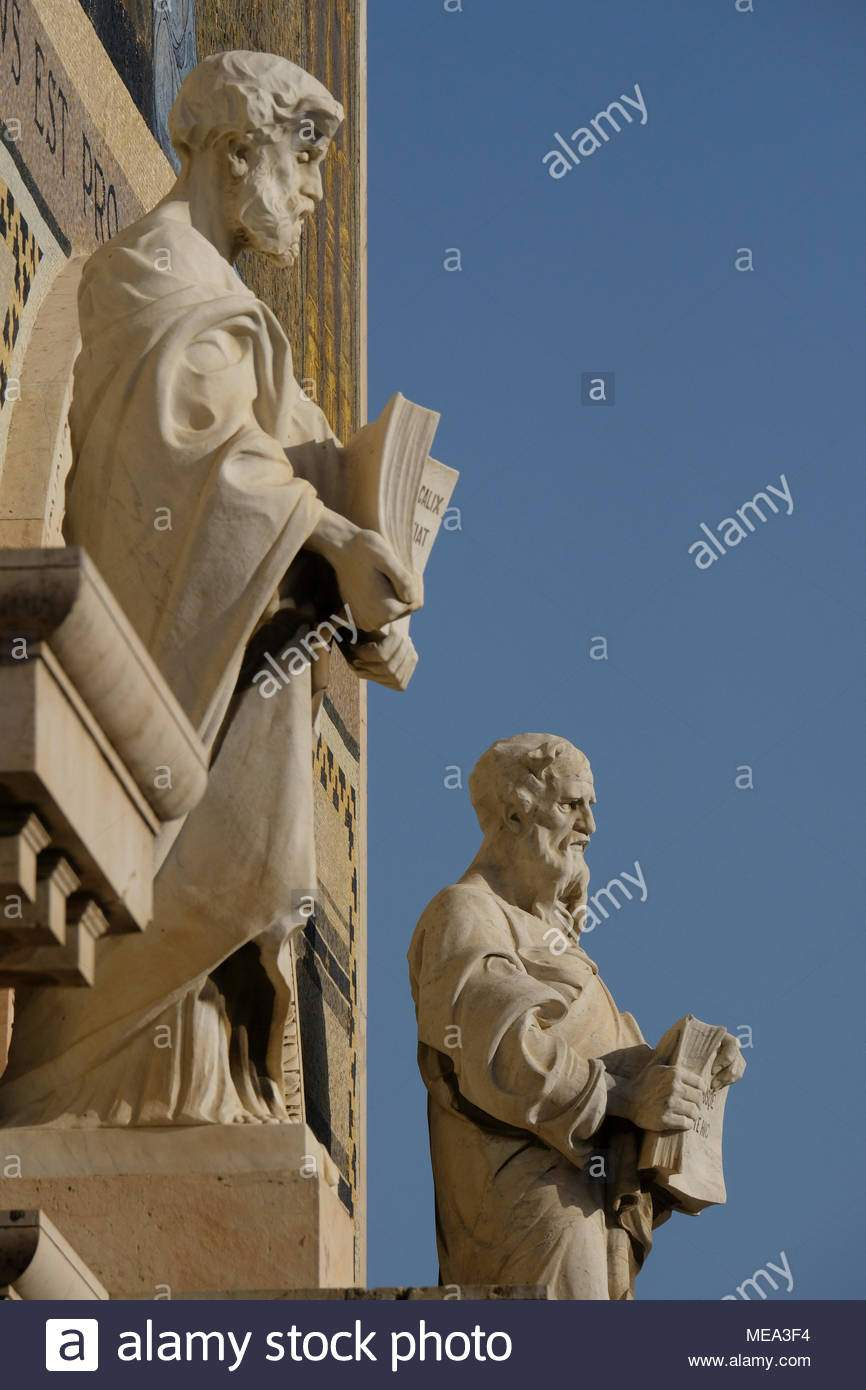 Garten Gezemaneh Genial Statuen Von Den Evangelisten Matthäus Und Johannes