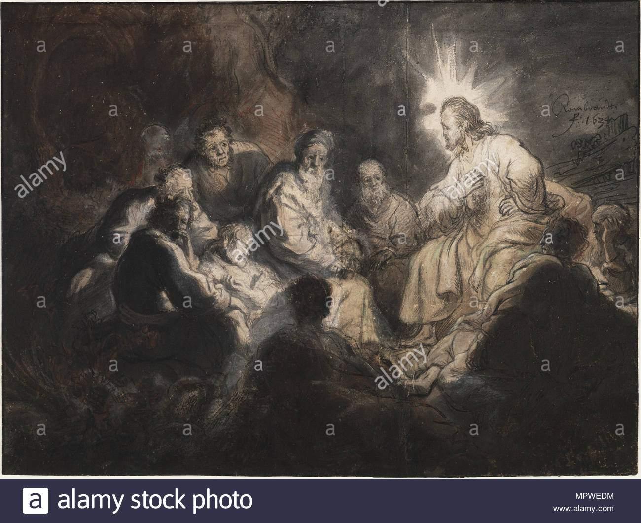 christus und seinen jungern im garten hsemane ca 1634 mpwedm