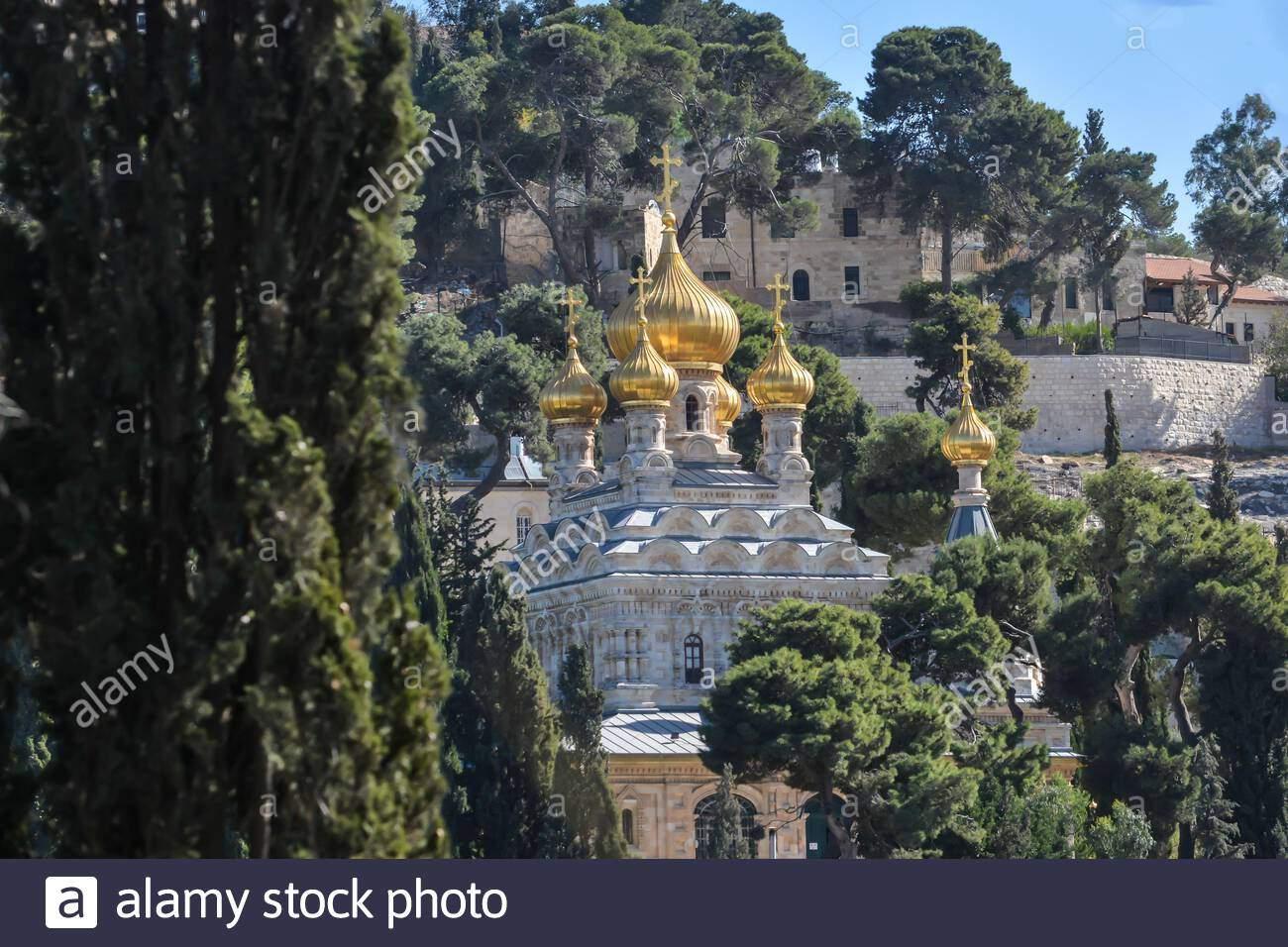 kirche st maria magdalena im garten hsemane hauptkirche der hsemane kloster von bethanien gemeinschaft von der auferstehung christi jerusalem ich 2ahmmae