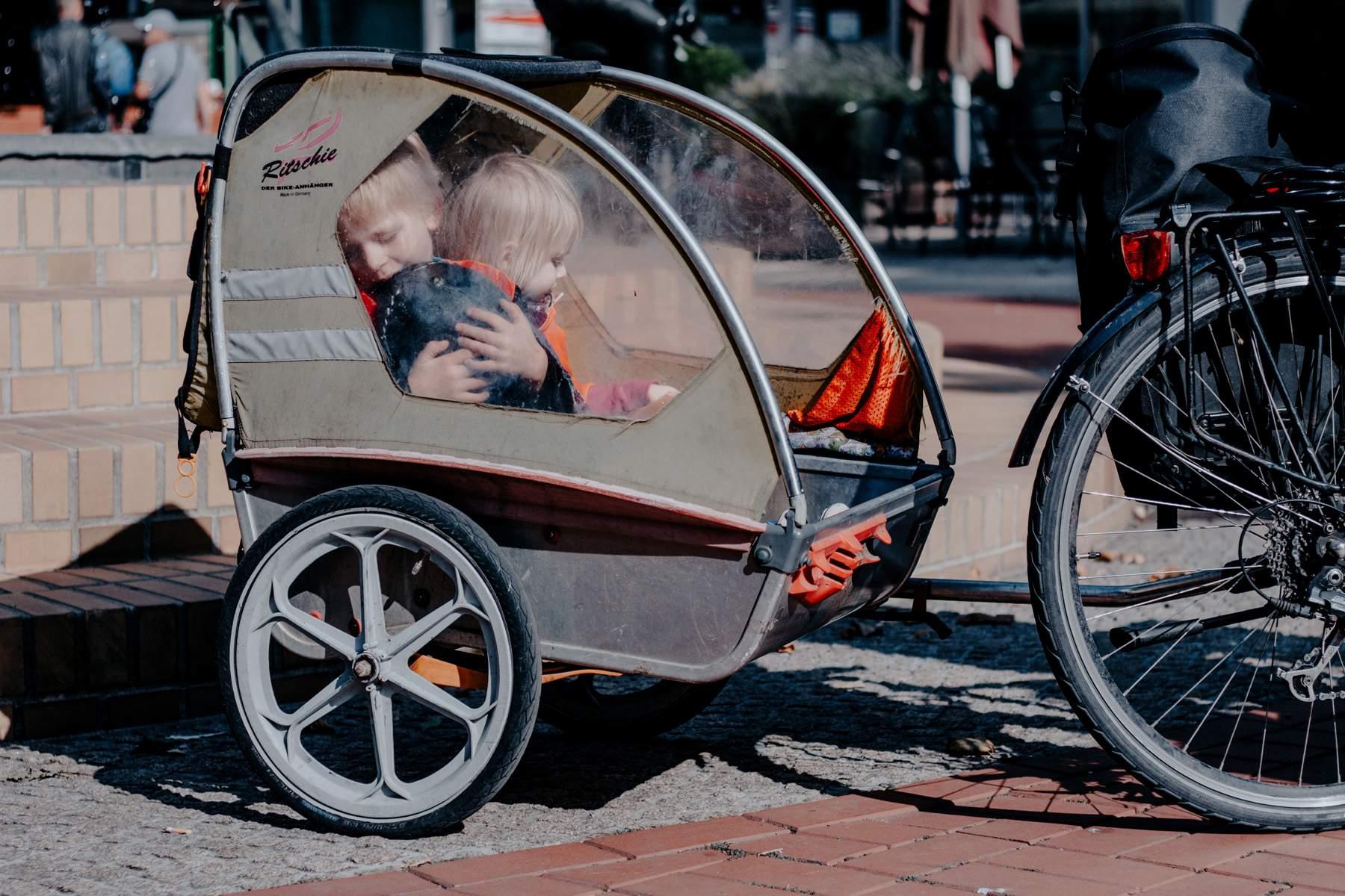 Thorsten Gieefers Familienhaus Fahrrad Fahrradportrait 2018 Kinderanhänger Fahrrad 4