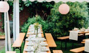 32 Reizend Garten Hochzeit Luxus