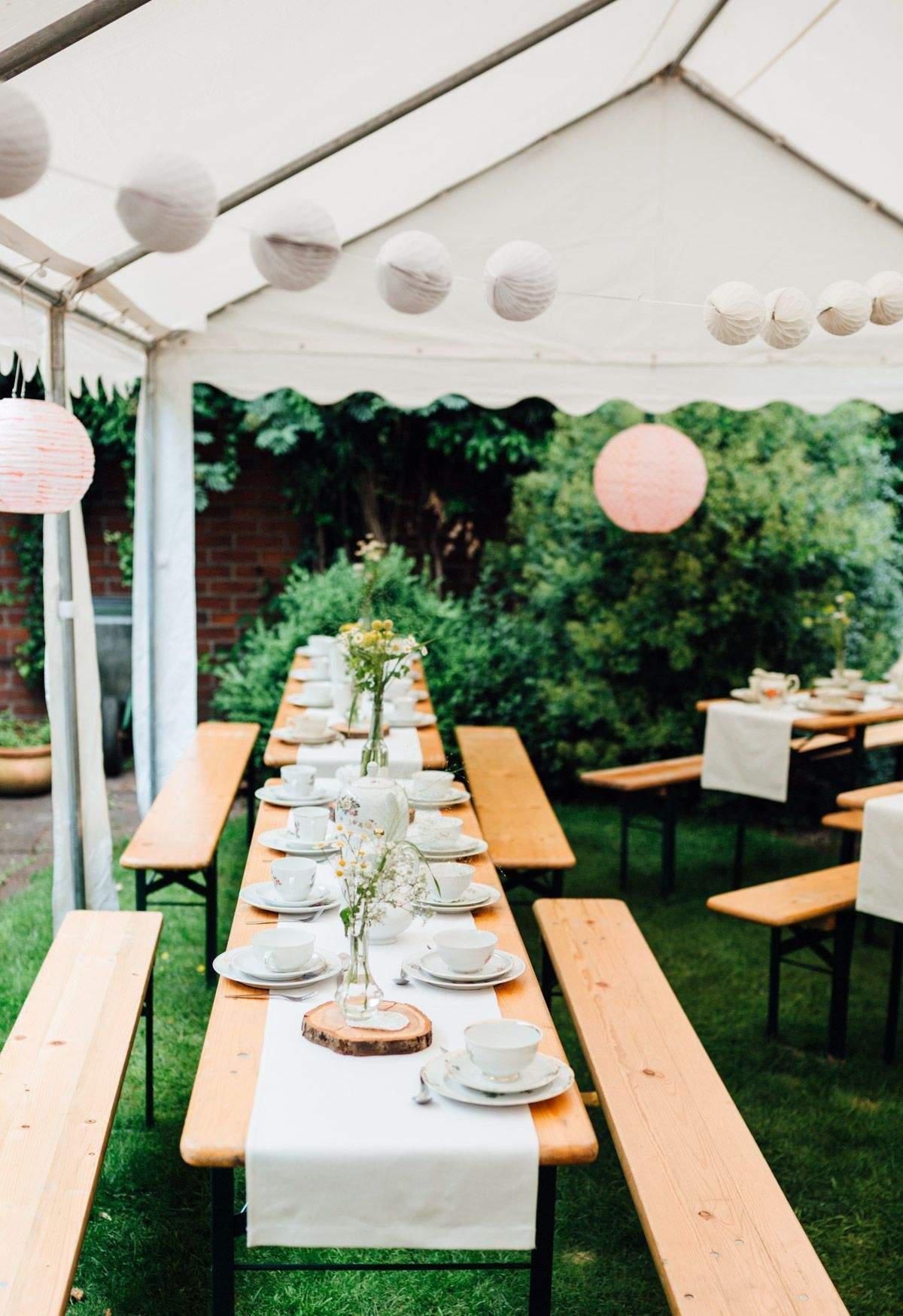 Garten Hochzeit Inspirierend Lässige Gartenhochzeit Mit Vintage Chic