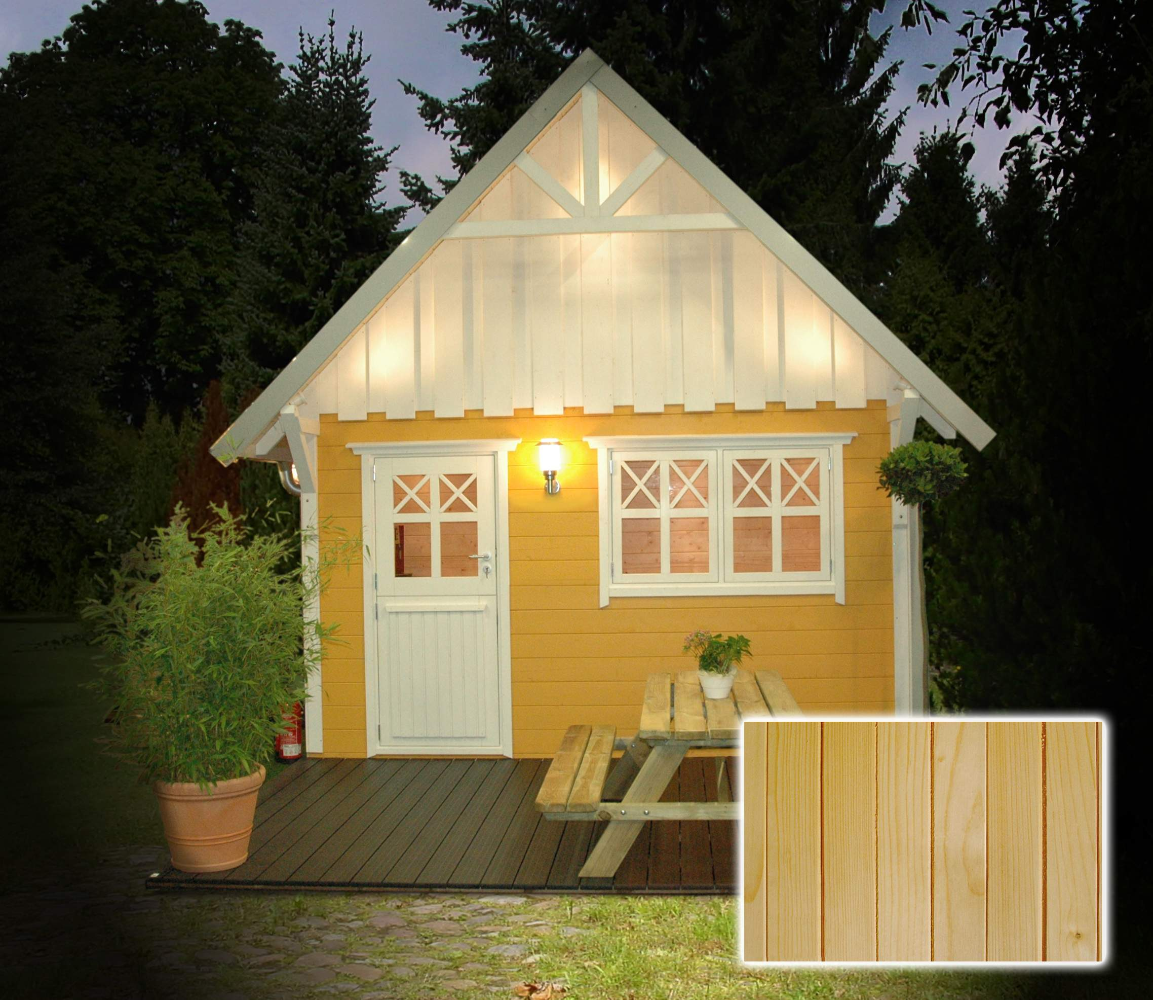 Schwedenhaus joda 4 gelb