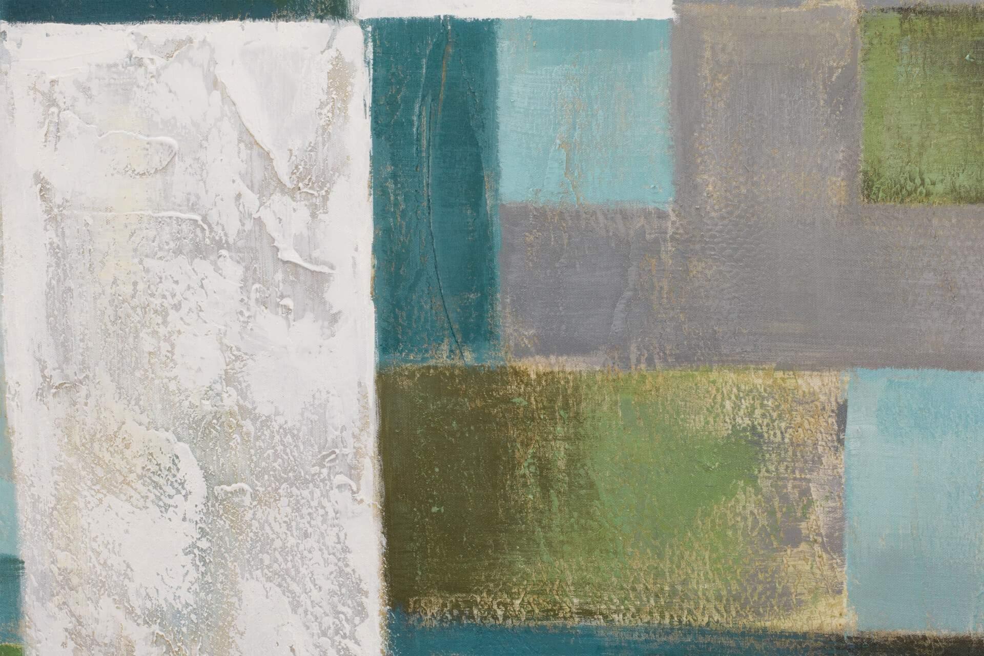 KL modern quadrate modern acryl gemaelde oel bild oelgemaelde 10