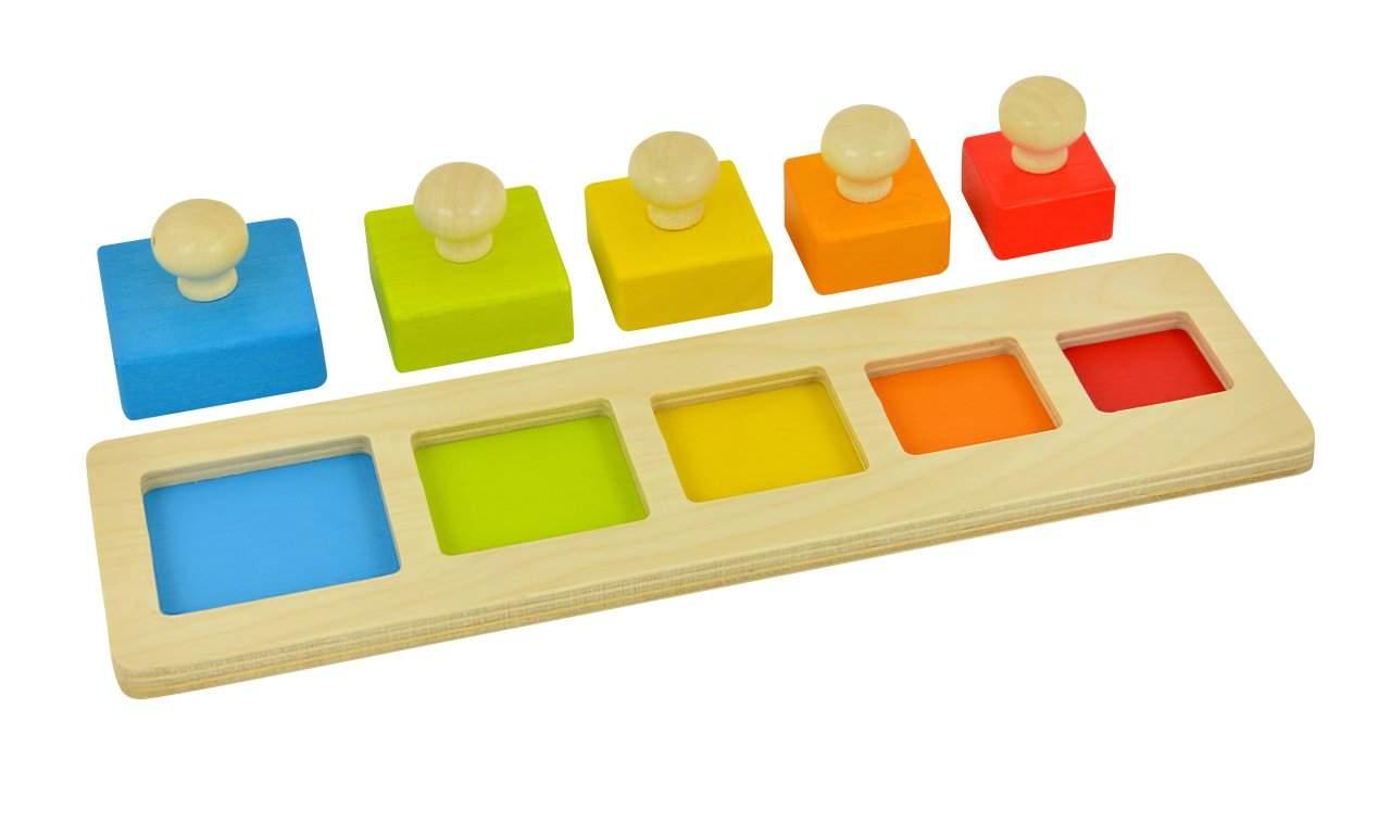 Sortierbrett Quadrate a