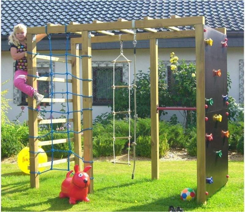 Garten Klettergerüst Das Beste Von Spielecke Gestalten Mit Klettergerüst Kreative Ideen