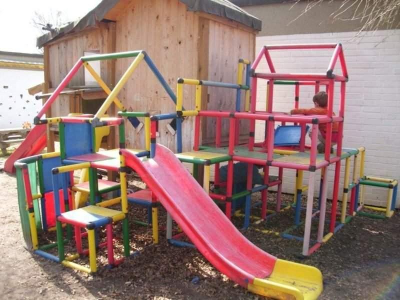Garten Klettergerüst Elegant Klettergerüst Im Garten Eine Fantastische Spielecke Für