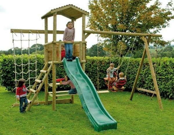 Garten Klettergerüst Elegant Speziell Für Kinder Klettergerüst Im Garten Archzine