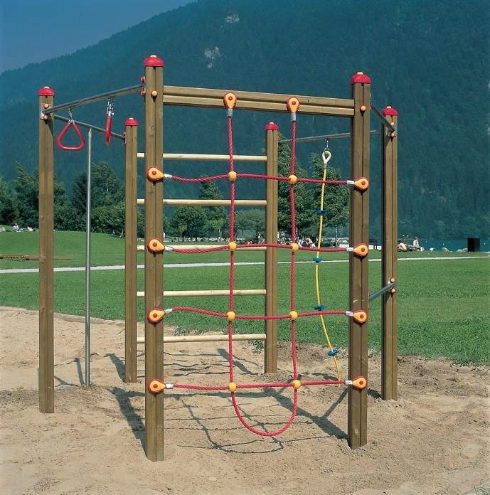 Garten Klettergerüst Luxus Klettergerüst Holzhof Hexagonal Kletterwand Netz