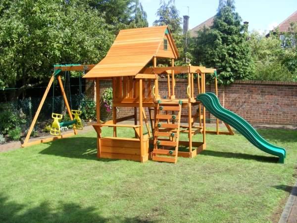 Garten Klettergerüst Luxus Speziell Für Kinder Klettergerüst Im Garten