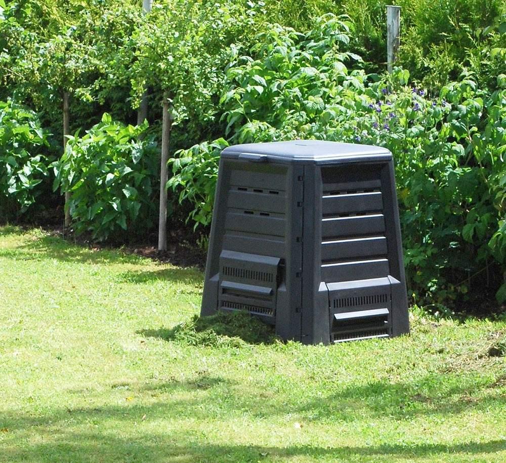 KHW Komposter 340 Liter ohne Boden mit S5d7b0dff66b0b