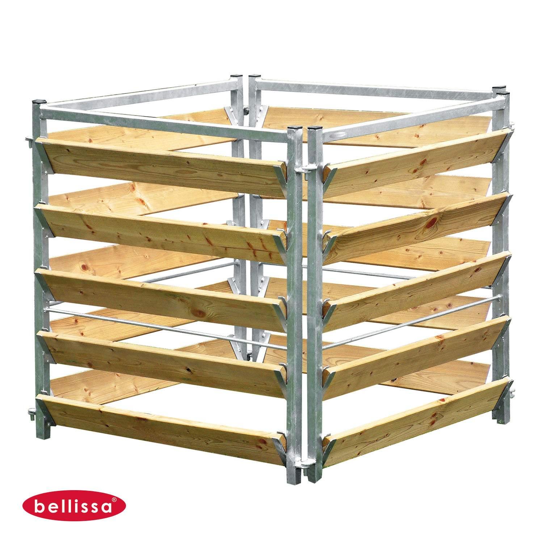 002 Komposter Holz Metall bellissa HAAS GmbH