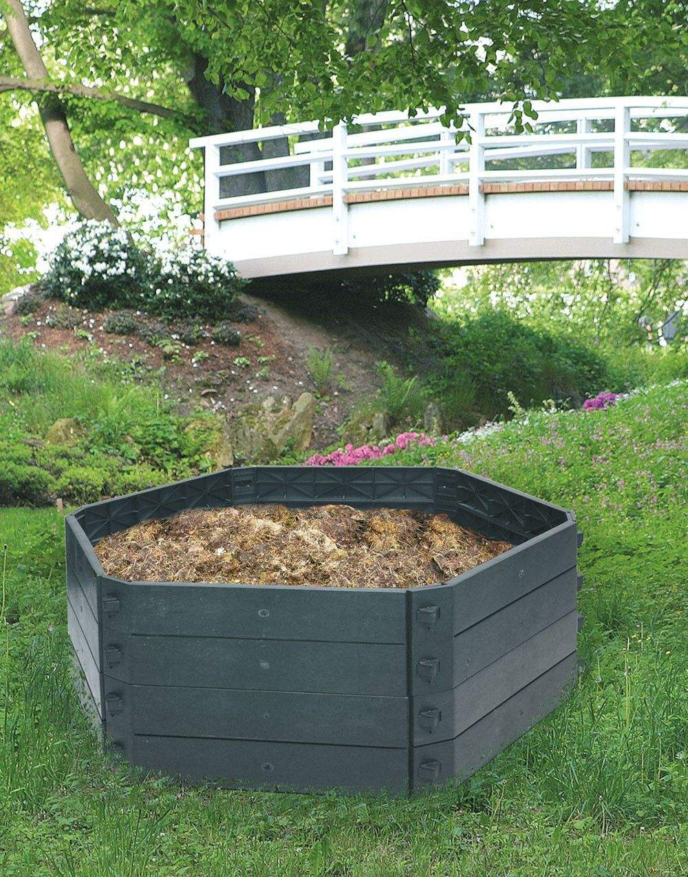 Garten Komposter Inspirierend Khw Erweiterbarer Schnellkomposter Grundvariante Sk 550 Liter