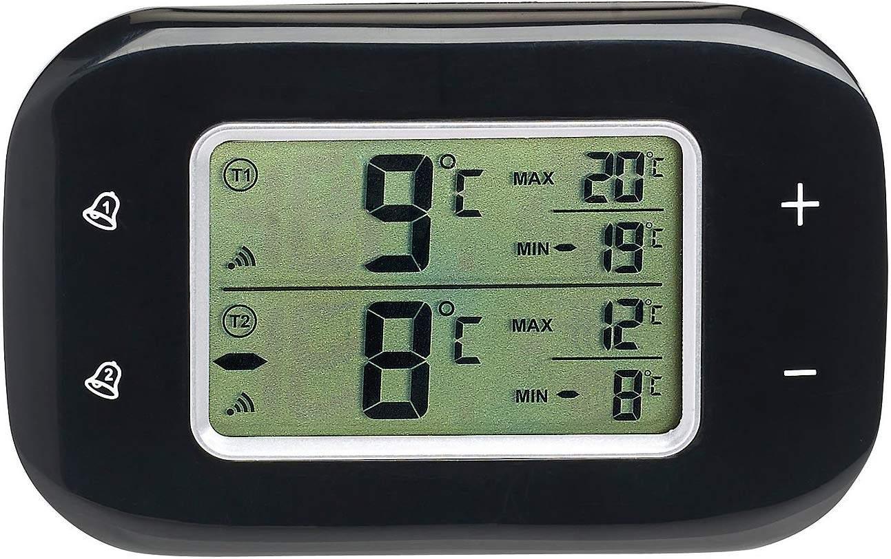 Garten Kühlschrank Inspirierend Rosenstein & Söhne Kühlschrankthermometer Digitales Kühl & Gefrierschrank thermometer 2 Funk Sensoren Schwarz Funkthermometer Kühlschrank