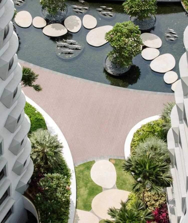 exotische garten landschaftsbau projekte