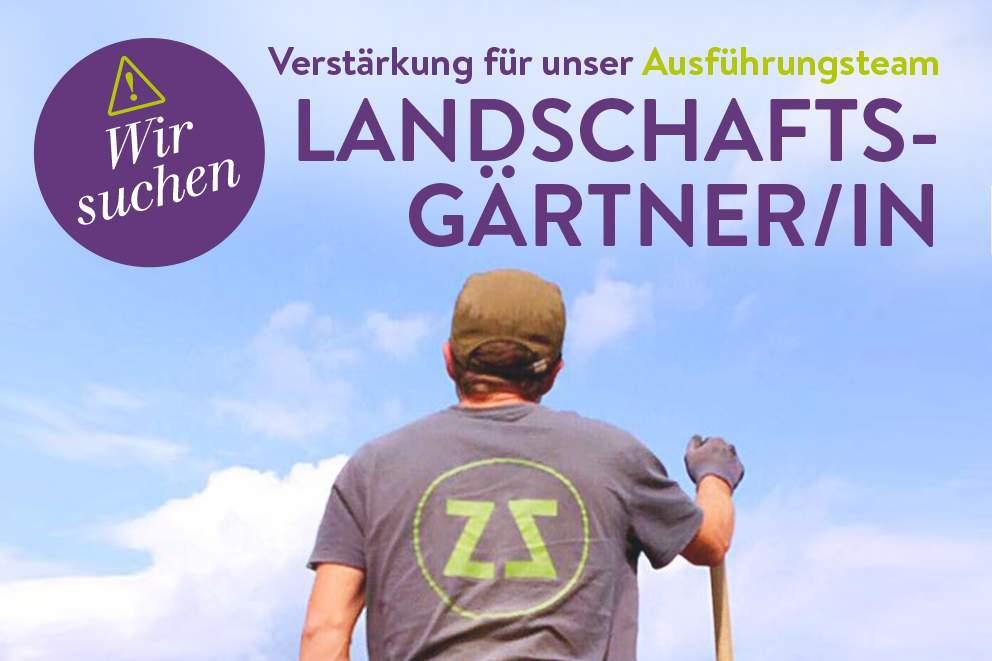 landschaftsgaertner in gesucht
