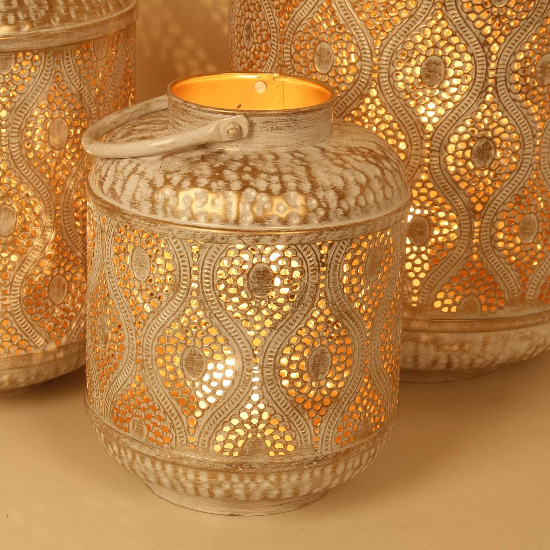 orientalische laternen windlichter suraya 3er set irl5010 shabby chic 03