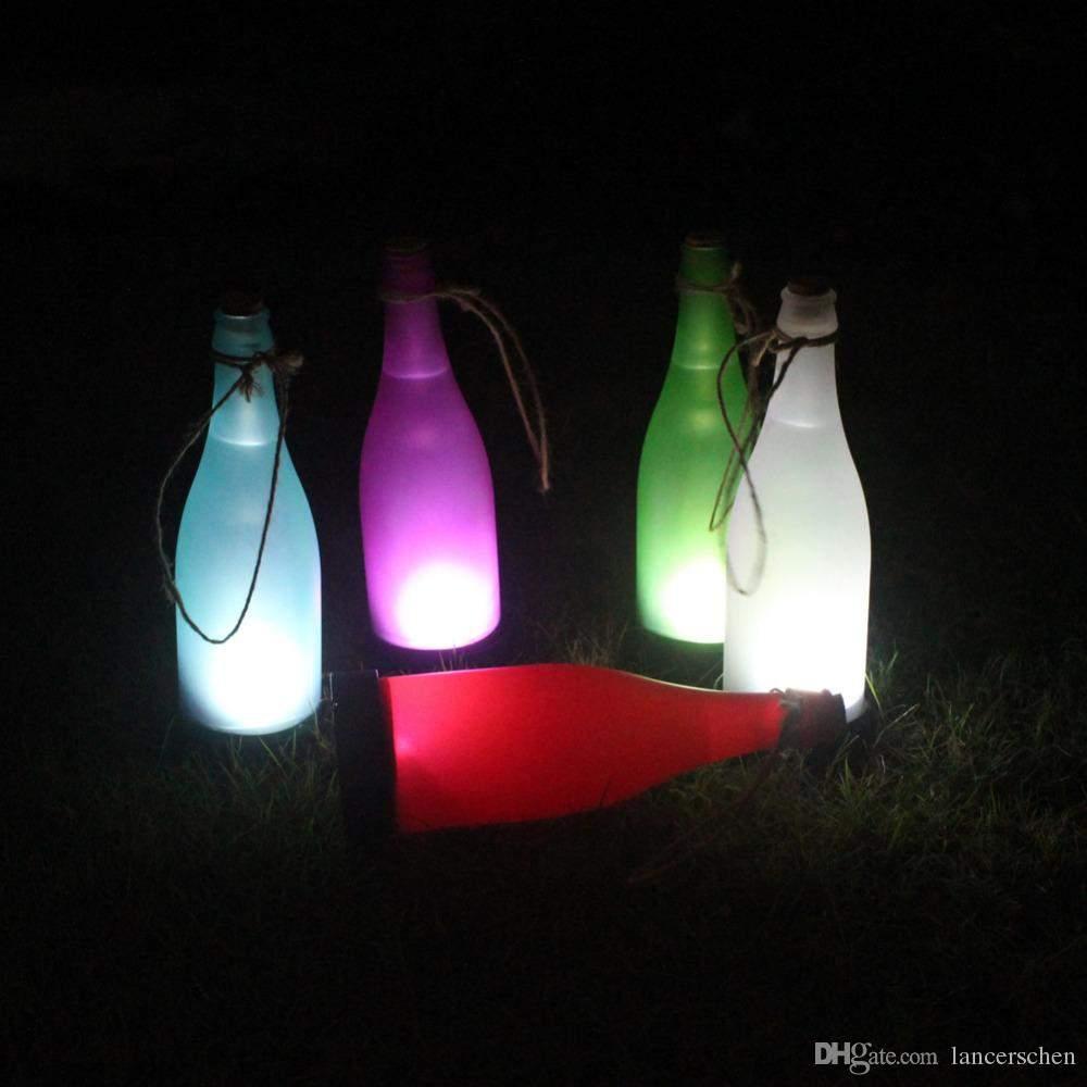 kreative solar lampe garten kunst beleuchtung