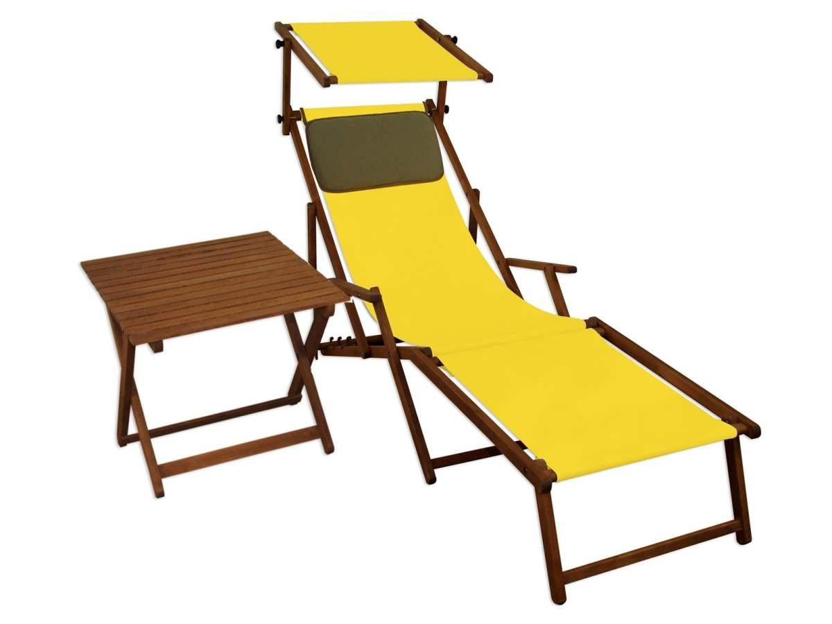 10 302 F S T KD Gartenliege Sonnenliege gelb8NJCtsVMZfaJS 600x600 2x
