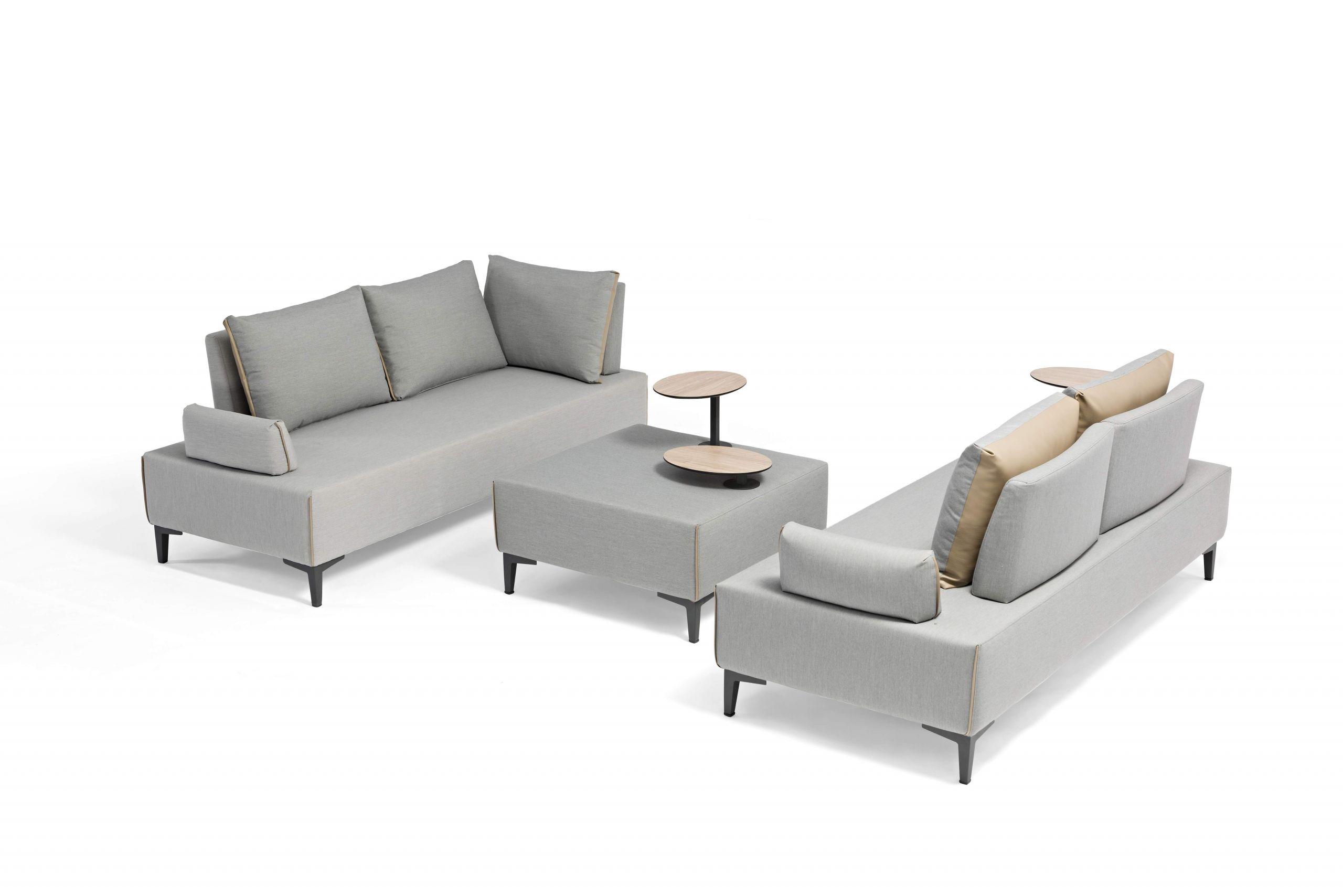 gartenmoebel aluminium textilene multifunktions lounge freedom anthrazit 06