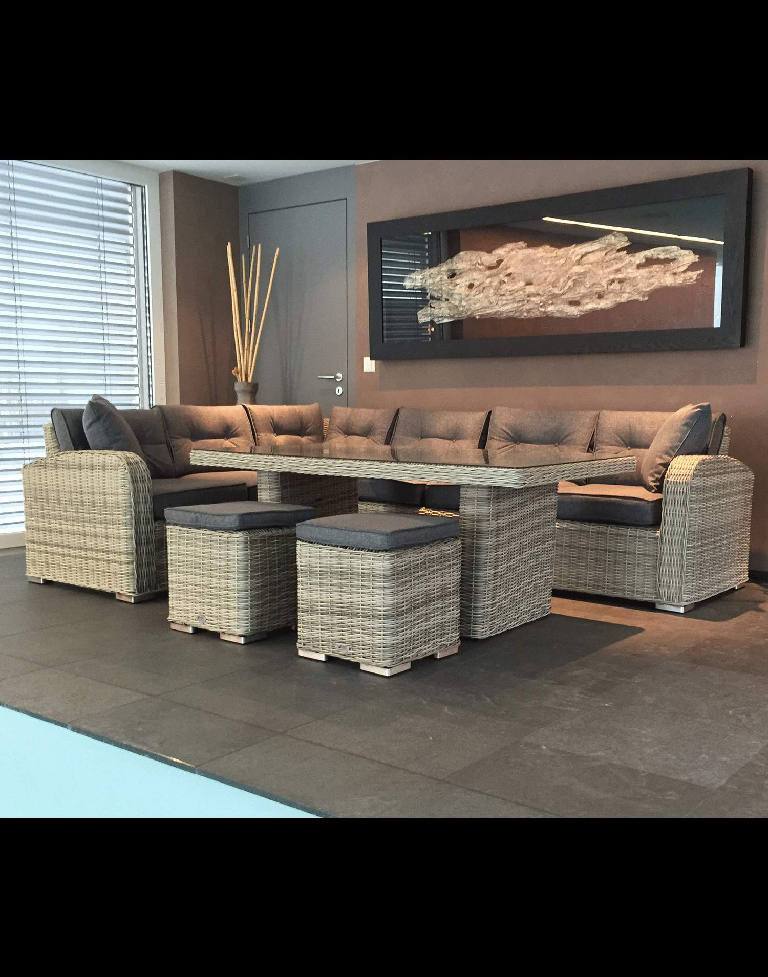 Garten Idee Rattan Lounge Günstig