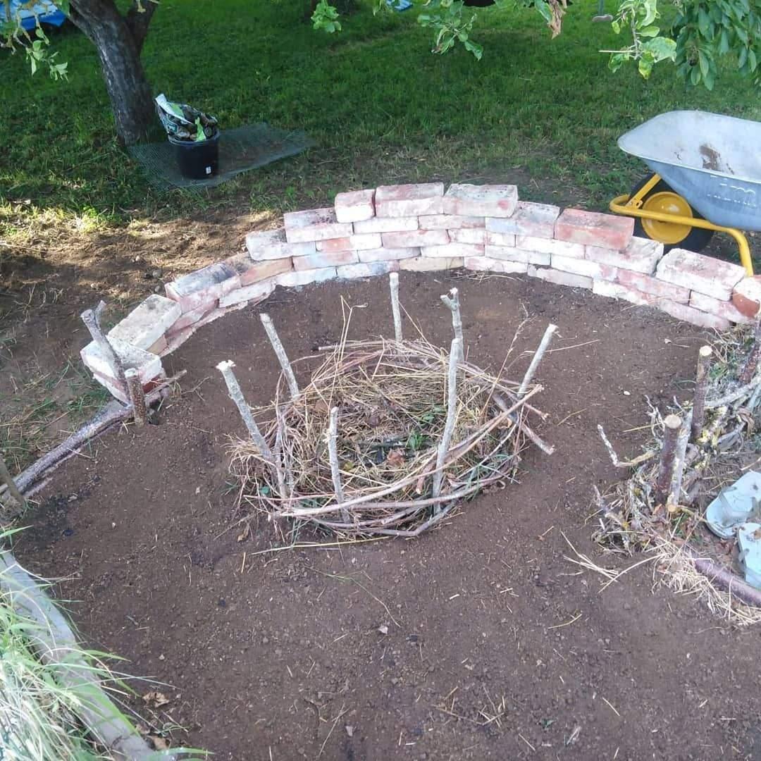 Garten Maschinen Elegant Unser Schlüssellochbeet Wurde Fleißig Bepflanzt Mila Hat