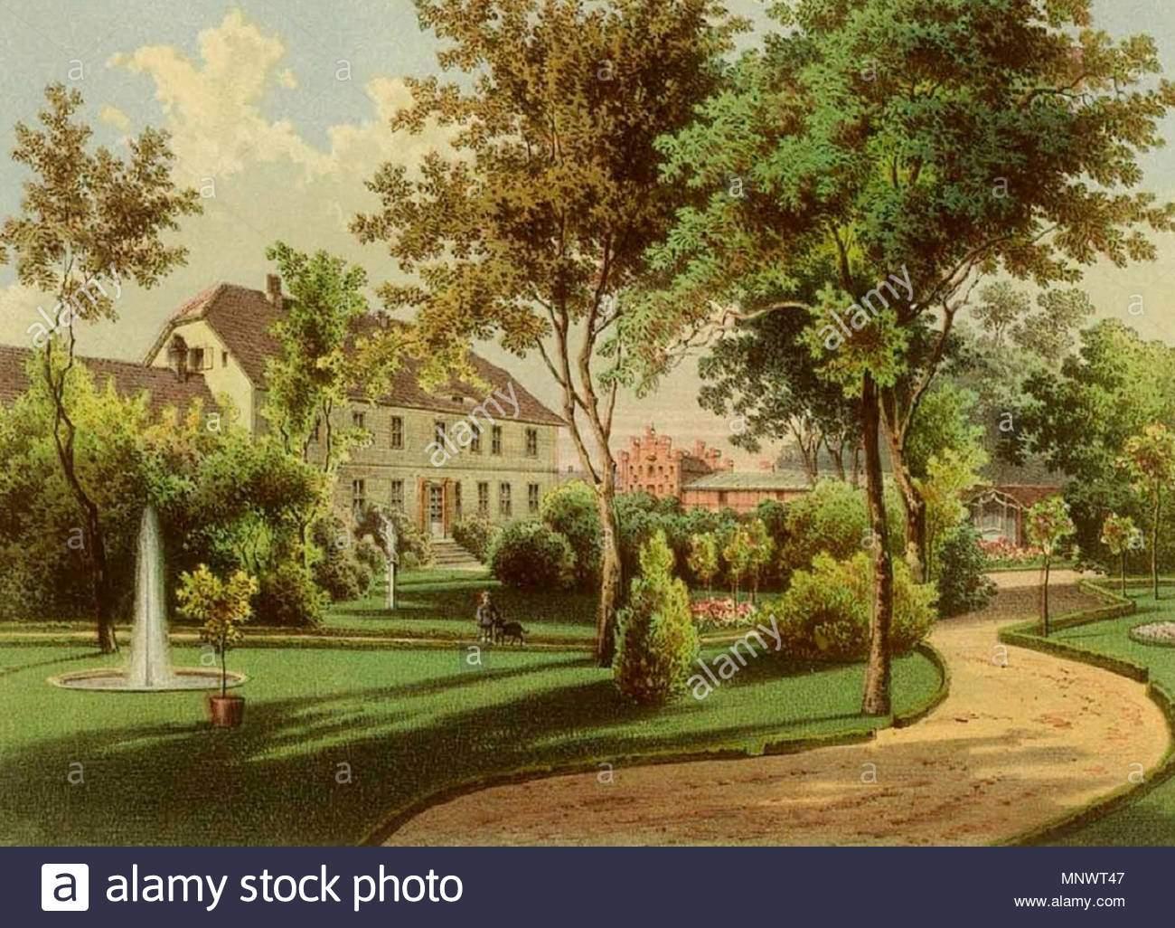 english rittergut neukirchen zwischen 1857 und 1883 christian hohe alexander duncker 1813 1897 1065 rittergut neukirchen sammlung duncker mnwt47