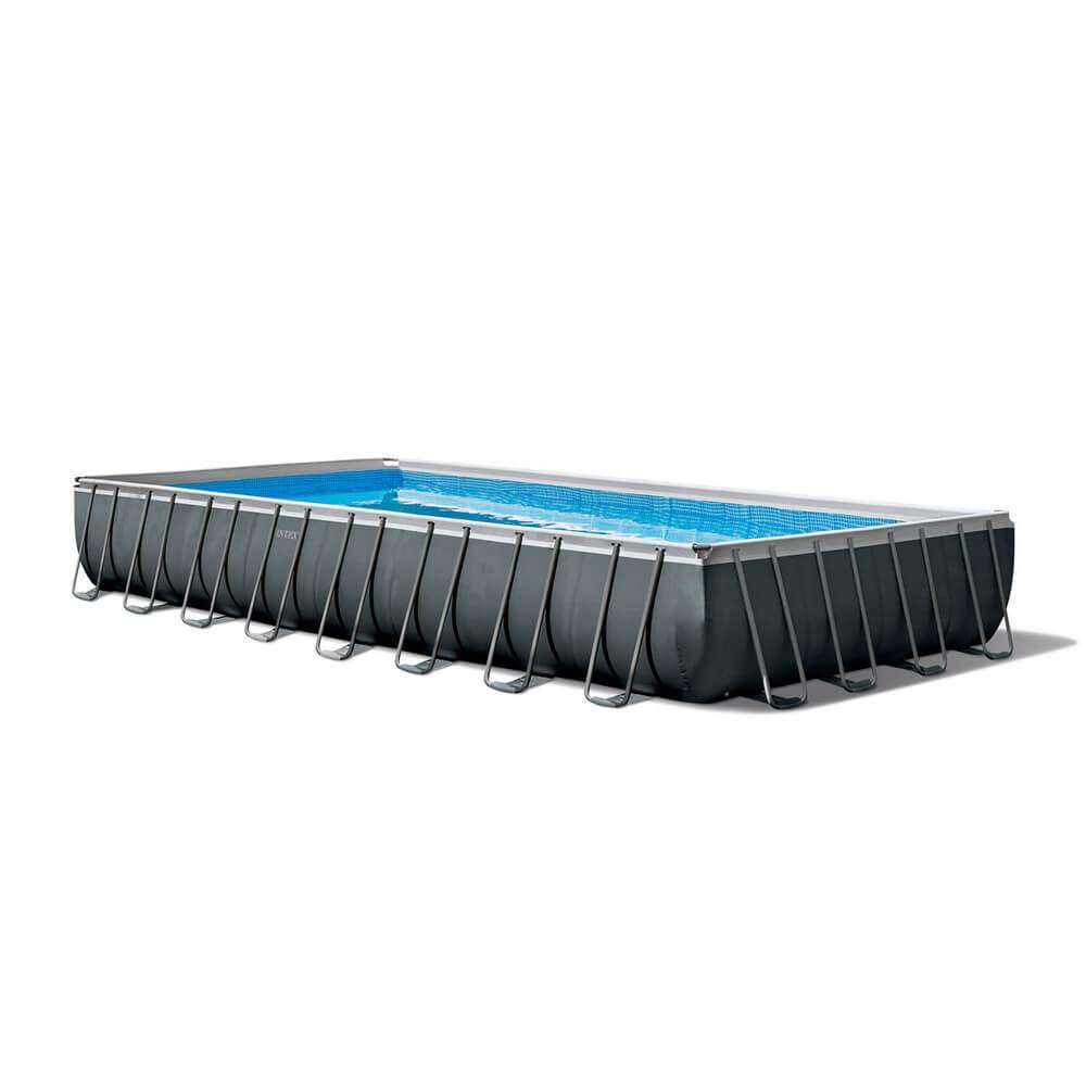 Garten Pool Intex Frisch Intex Gn Ultra Frame Xtr Rechteck Swimming Pool Set 975 X 488 X 132 Cm