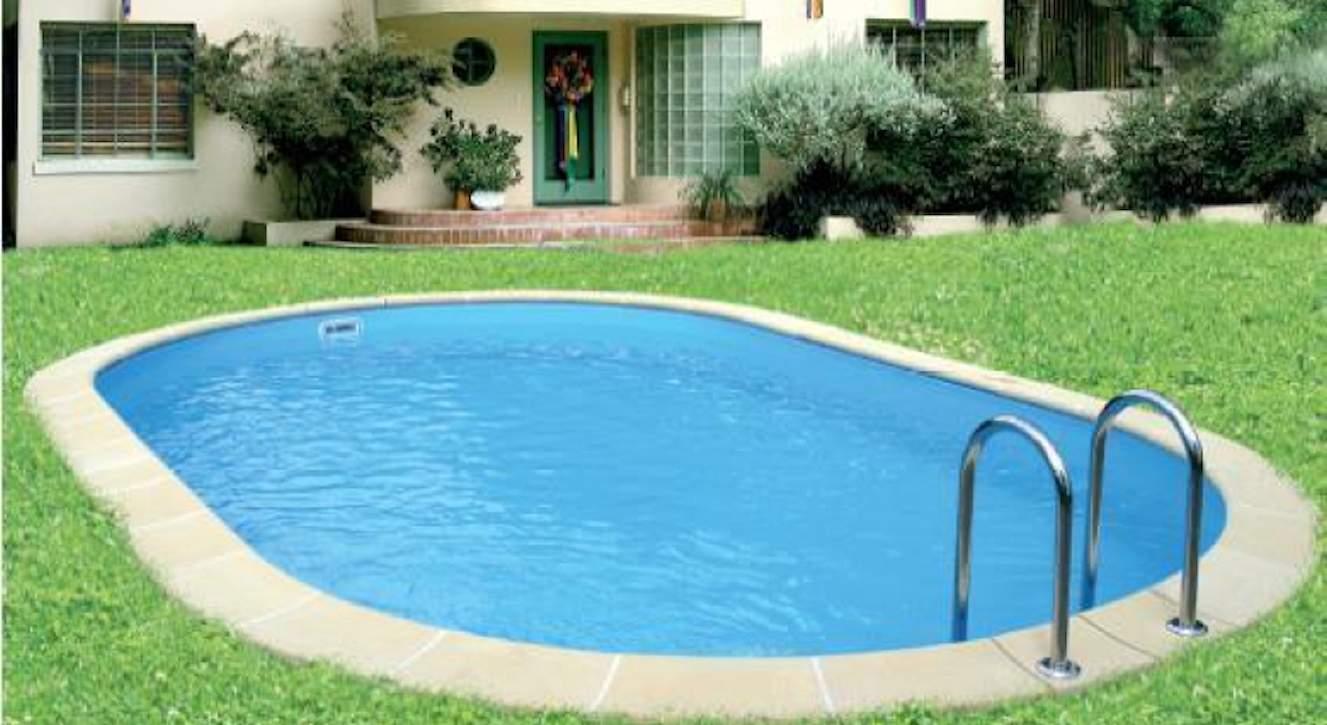 Garten Pool Intex Genial Langform Becken 3 50 X 7 40 M 1 20 H