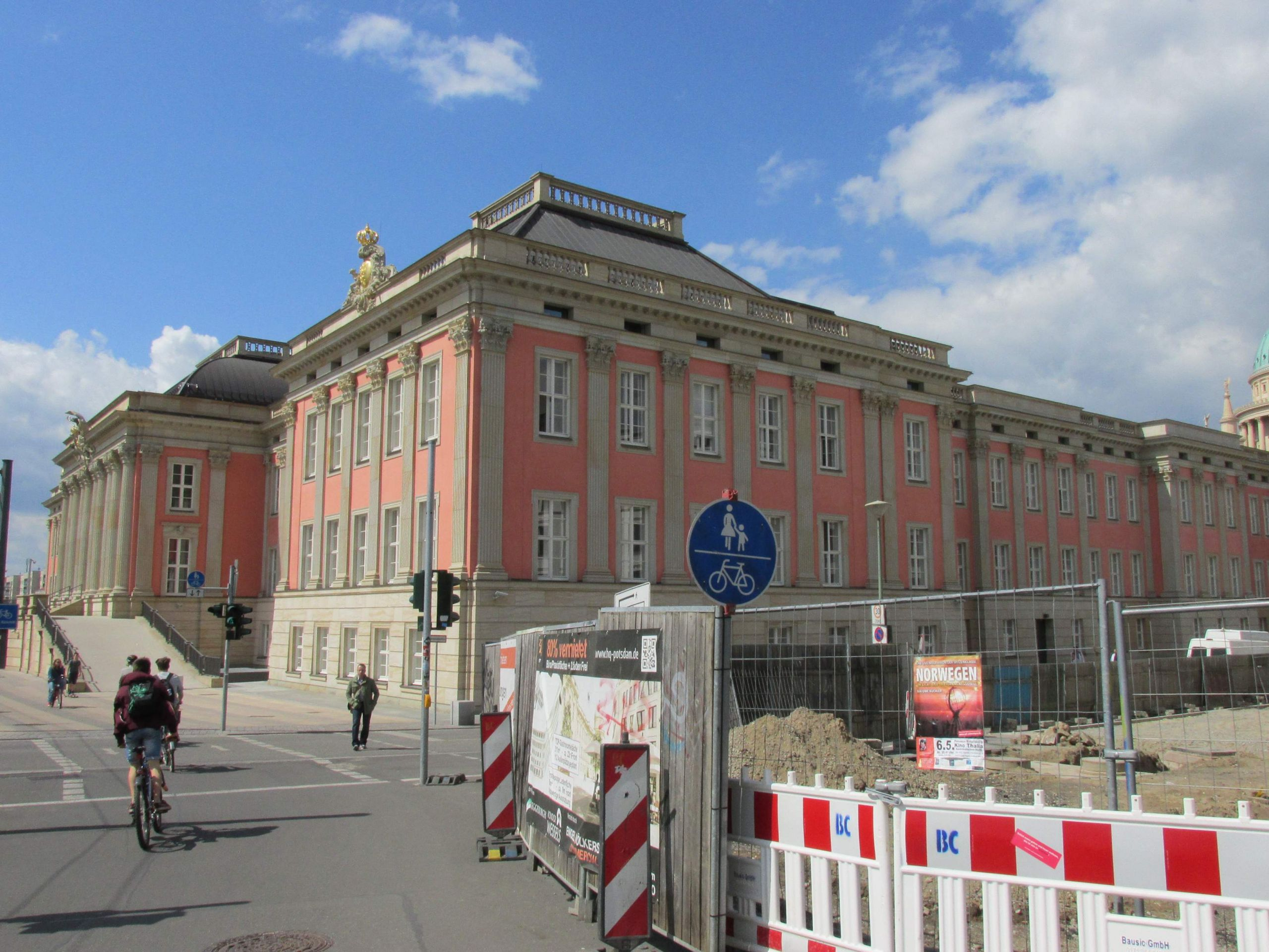 Potsdam Stadtschloss from SE May 2015