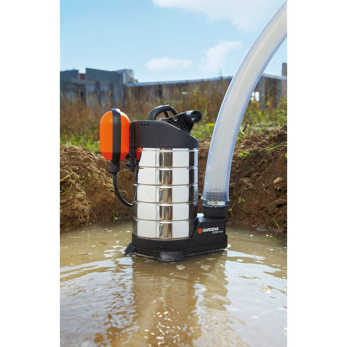 Schmutzwasser Tauchpumpe Inox 03