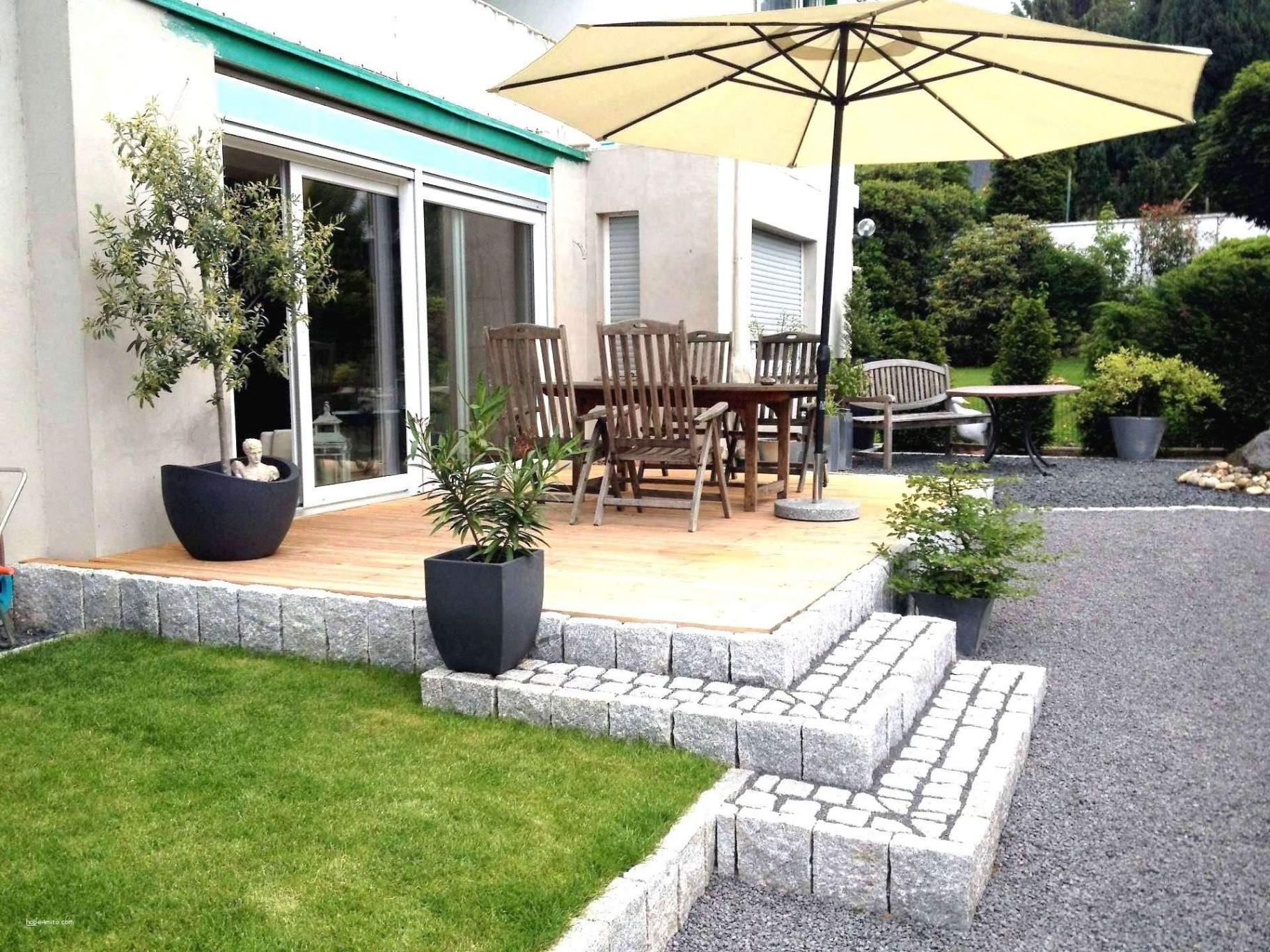 Terrasse Reihenhaus Gartengestaltung