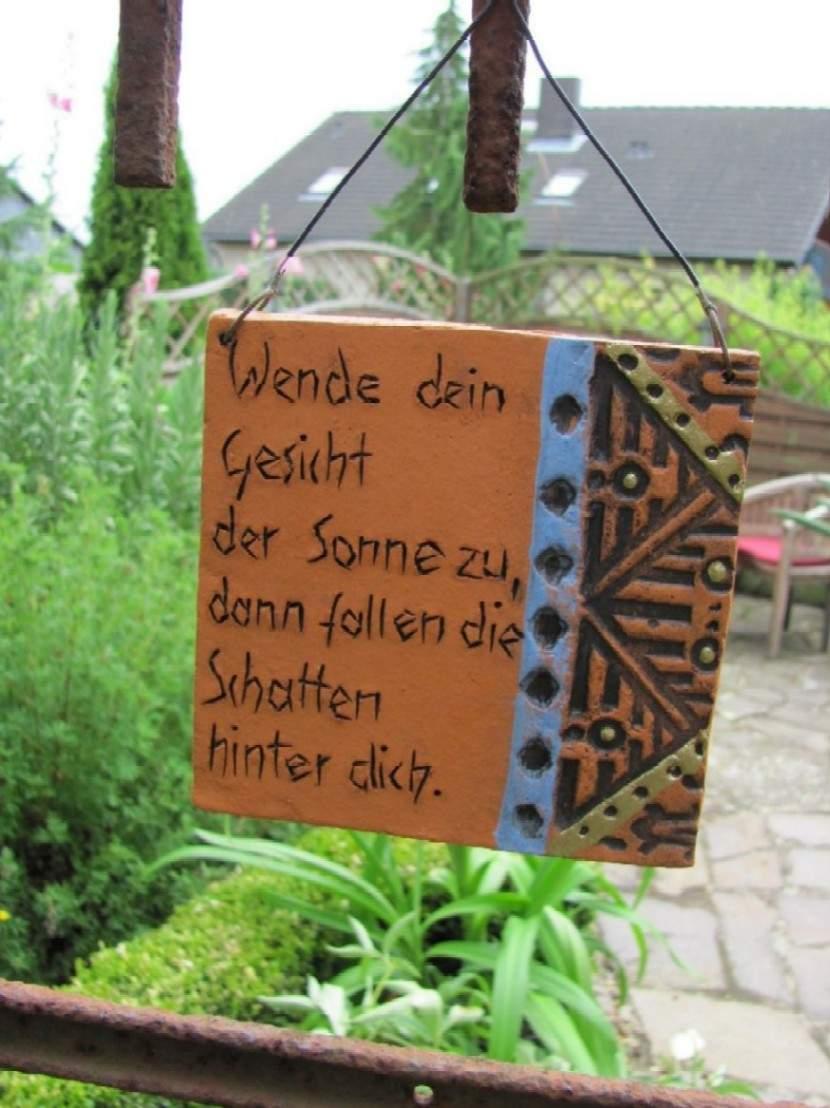 az1 Schilder Gartenschilder Gartensprueche fuer den Garten Kimarek und Garten 24 07 10 143