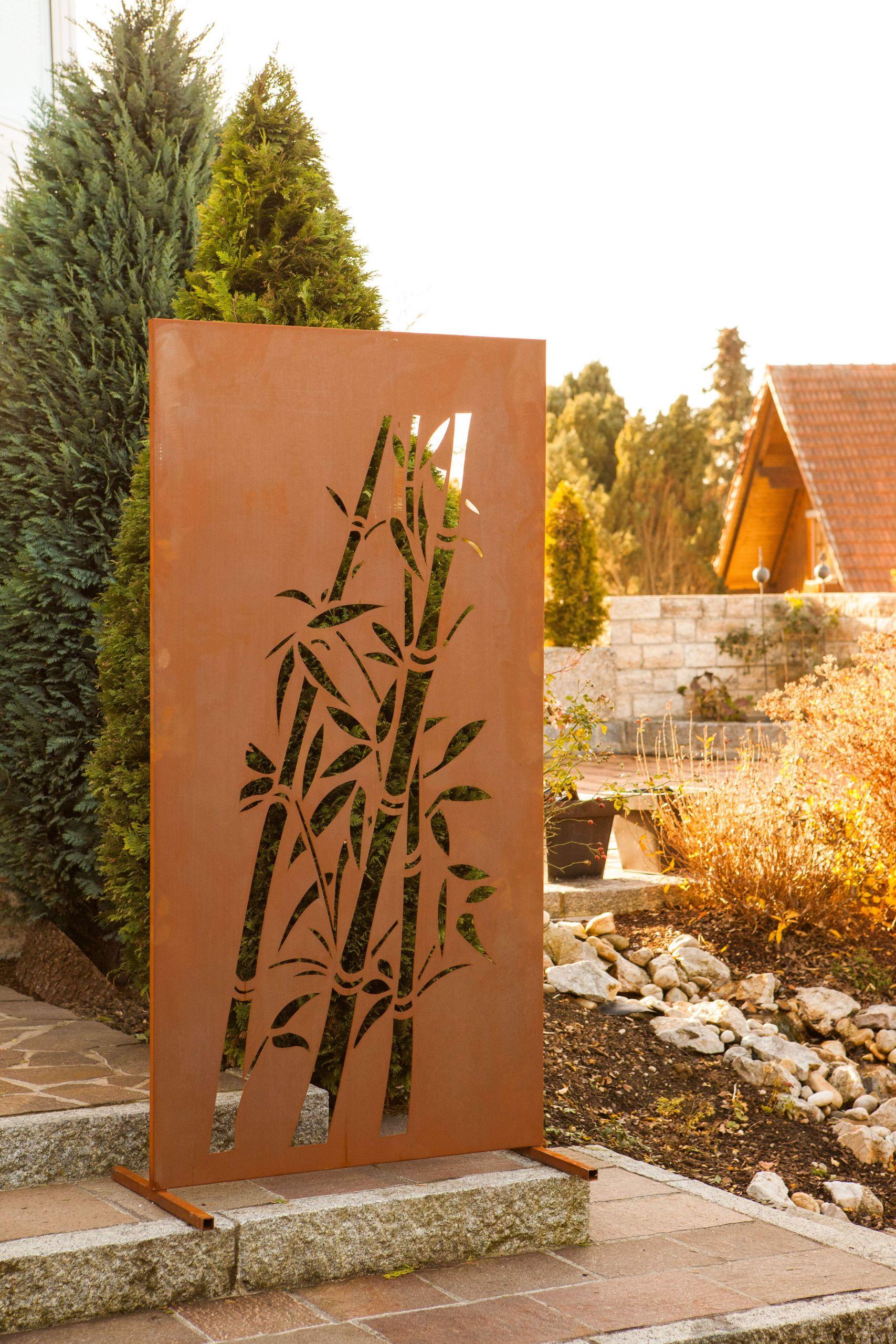 Sichtschutzwand Bambus 1 0999