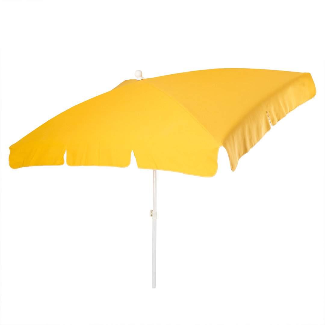 sonnenschirm stromeyer mainau rechteckig gelb
