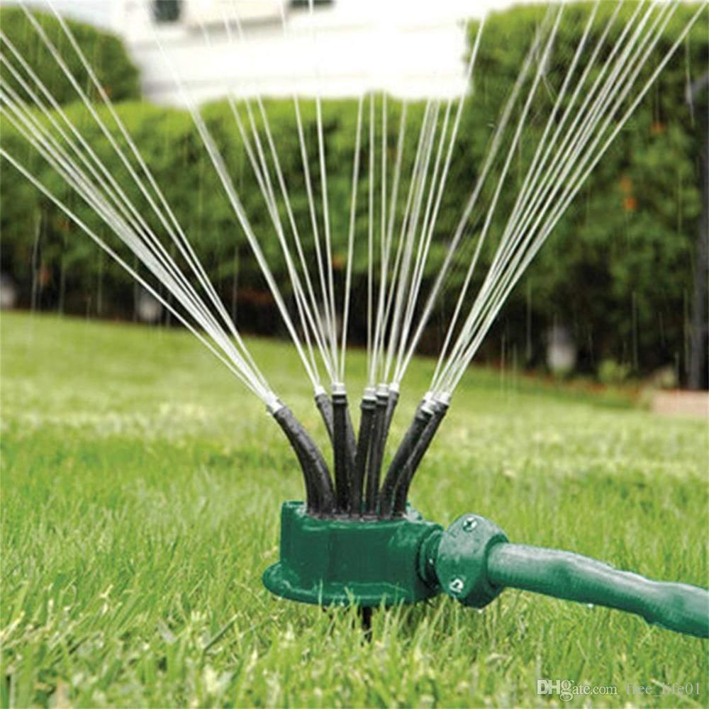 Garten Sprinkler Luxus Großhandel Grün 360 Grad Sprinkler Nudelkopf Wasser Sprinkler Garten Bewässerung Sprinkler Für Garten Bewässerung Dachkühlung Von Free Life01 $5 12