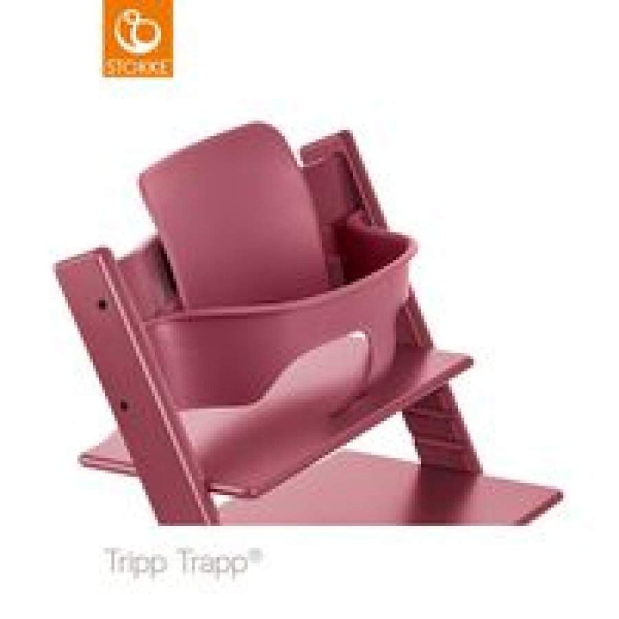 STOKKE Tripp Trapp Baby Set Heather Pink