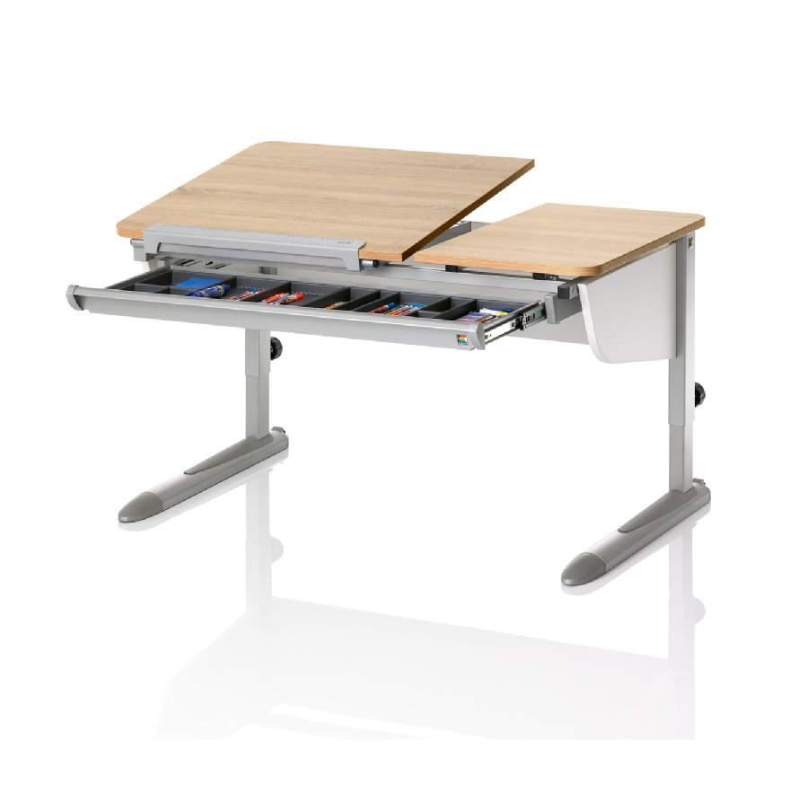KETTLER Schreibtisch LOGO DUO II Eiche silber 4278