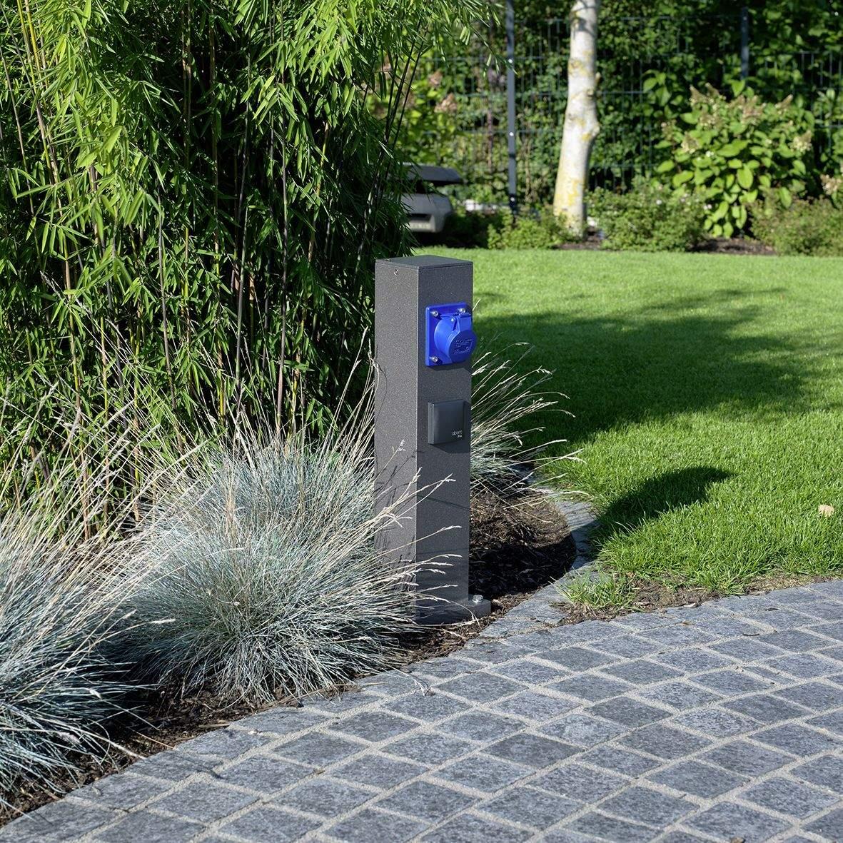 Garten Steckdosen Luxus Albert Auch Mit Wasseranschlu…
