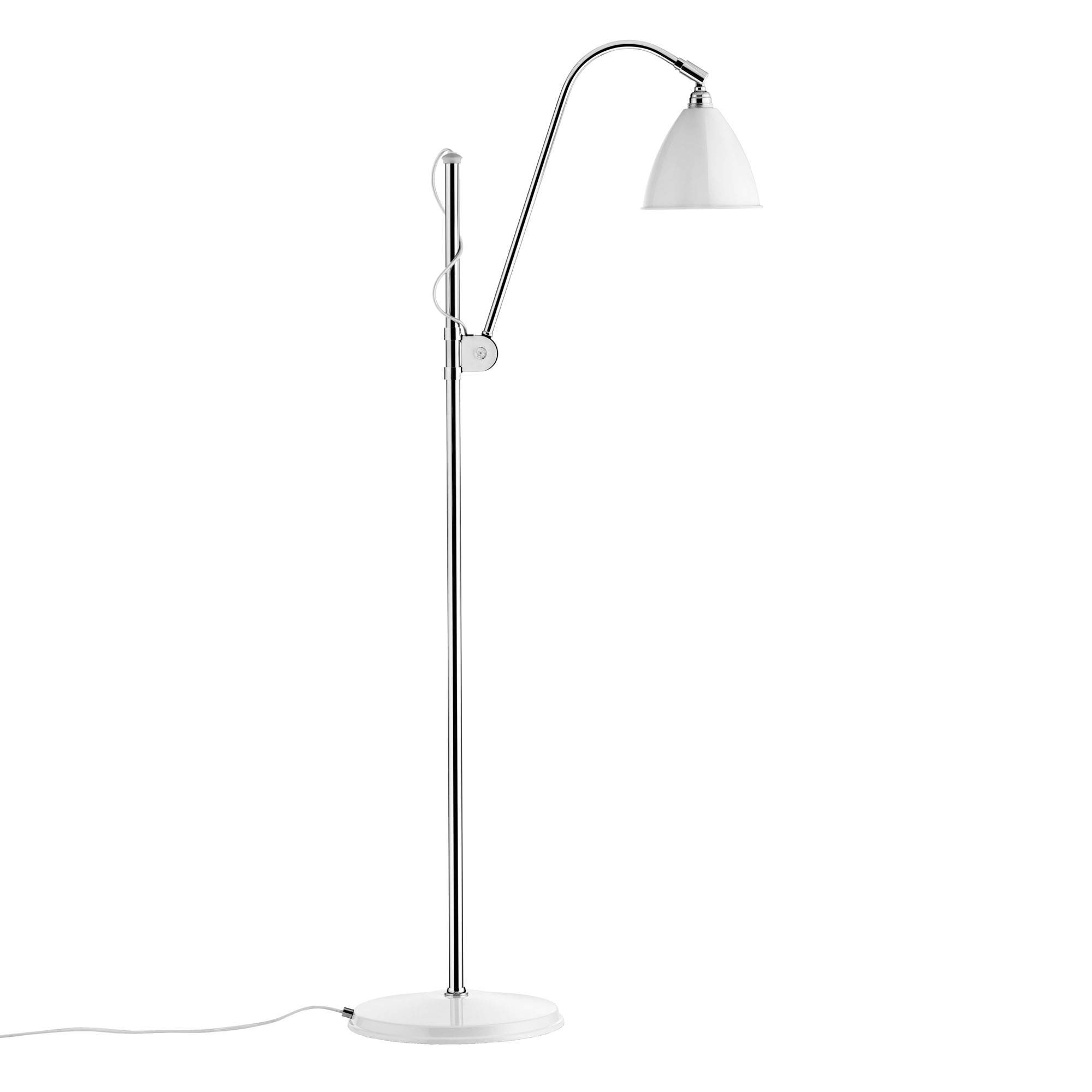 gubi designer stehlampe bestlite weiss chrom 091 03 01 0006 01