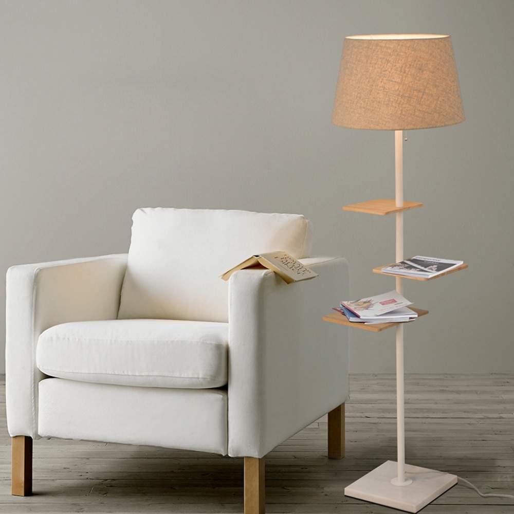 Led e27 Nordic Eisen Stoff Holz Marmor Minimalismus Led lampe LED Licht Stehleuchte Licht F r